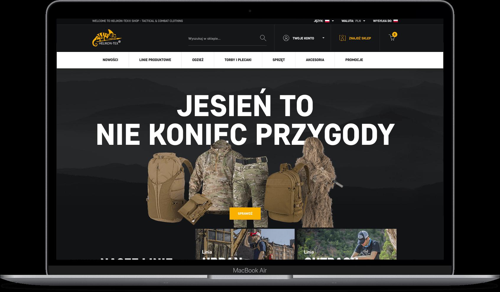 helikon strona internetowa